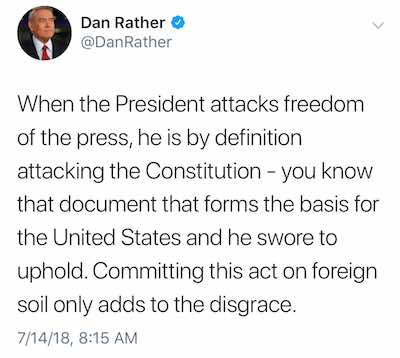 Dan rather tweet